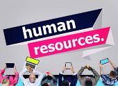 picture of recruitment  - Human Resources Employment Job Recruitment Concept - JPG