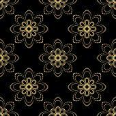 Постер, плакат: Floral Seamless Pattern