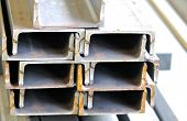 image of foundation  - metal profiles channel foundation for building structures steel - JPG