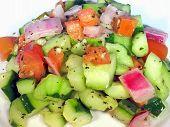 Delicious Cucumber Tomato Salad