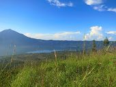 picture of gunung  - Morning on Batur volcano - JPG