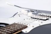 Part of electric guitar