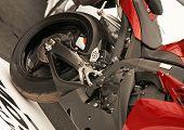 Постер, плакат: Мотоцикл деталь