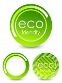 Eco friendly buttons