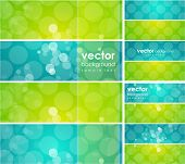 Glossy vector background