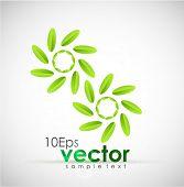 Green concept. Vector illustration