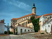 Castle of Mikulov, Southern Moravia, Czech Republic