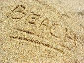 Beach On The Sand