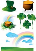 St. Patrick's vector set