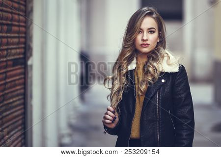 Beautiful Blonde Russian Woman In