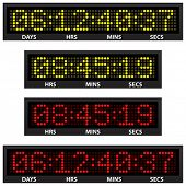 stock photo of countdown  - countdown timer  - JPG
