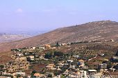 stock photo of tora  - Golan Heights View. Spring. North of Israel ** Note: Slight graininess, best at smaller sizes - JPG