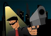 Night robbery