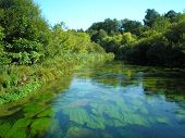 The River Itchen Winchester Uk