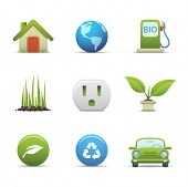 Eco icons set # 3 For similar images see my portfolio
