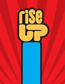 Rise_up_fist poster