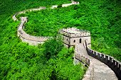 The Great Wall Of China. Great Wall Of China Is A Series Of Fortifications Made Of Stone Brick poster