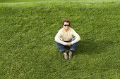 Sit On The Grass