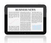 Noticias de negocios en Tablet Pc
