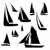Sailboat Collection.Eps