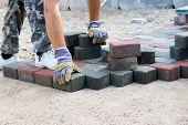 Brick Paver Working