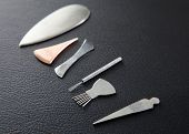 Selection of Shoni Shin tools for pediatric acupuncture