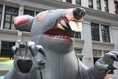 Scabby, The Inflatable Giant Rat!