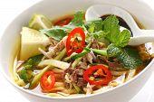 penang assam laksa, malaysian food