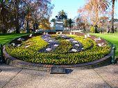 Queen Victoria Gardens Floral Clock