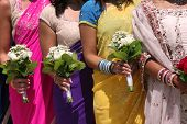 image of indian wedding  - Bridal Party - JPG