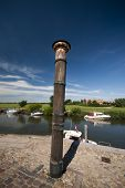 Storm Tide Pillar In Ribe
