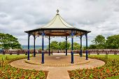 Ornamental English bandstand
