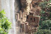 Old Dogon Houses, Dogonland, Mali