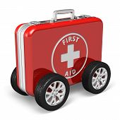stock photo of ambulance car  - Medical assistance concept - JPG