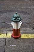 Patriotic Fire Hydrant