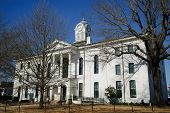 Lafayette County Courthouse In Oxford, Mississippi, USA