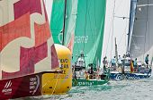 Telefonica Leads Groupama And Camper At The Mark