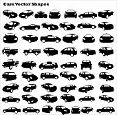 Cars Vector Shapes