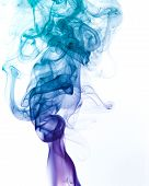Multicolored Smoke Detail