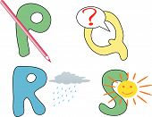 Letters With Pictures For Children Education
