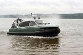 Air-Cushion Boat.