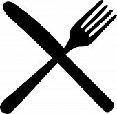 Cutlery Crossed