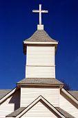 Rural Church Steeple