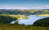 Wimbleball Lake Exmoor National Park Somerset