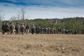 Confederate Skirmish Line