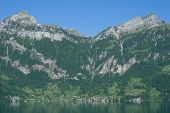 Bauen,Lake Urnersee,Switzerland