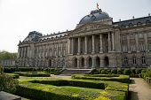 stock photo of royal palace  - The Famous Royal Palace in the heart of Europe  - JPG
