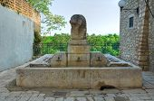 Fountain of Messer Oto. Venosa. Basilicata. Italy.