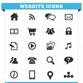 Website Icons Vector Set