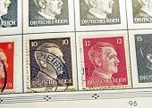 Adolf Hitler Stamps